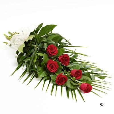 Simple Rose Sheaf   Red *