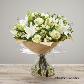 White Radiance Hand tied