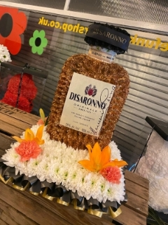 3D Disaronno Bottle